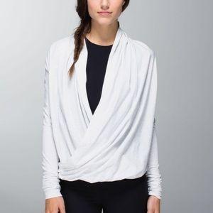 Lululemon iconic wrap top cardigan sweater